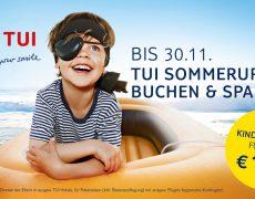 Kinder reisen im nächsten Sommer mit TUI für nur 149 €