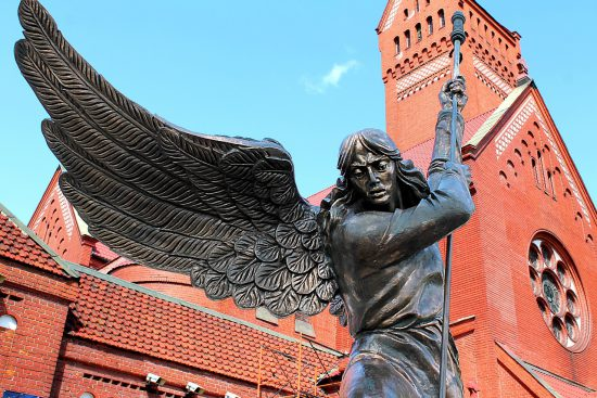 Rote Kirche Minsk